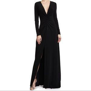 Halston Heritage Ruched Dress - Size Large